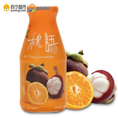 【苏宁超市】九日秋语果汁(山竹橙子)238ml*3 泰国进口nfc非浓缩还原