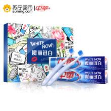 中华魔丽迅白酷爽薄荷味牙膏170g*2+牙刷*2(联合利华)
