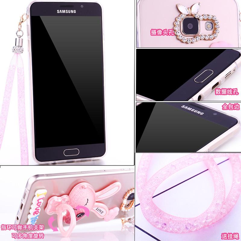 三星g5700手机壳2016版galaxyon5保护套g5700硅胶sm透明软g5700 粉