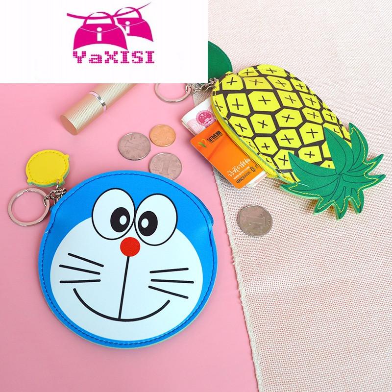 爱小零钱包女迷你可爱韩国皮质简约小清新布朗熊卡通硬币包袋 kl-雪梨
