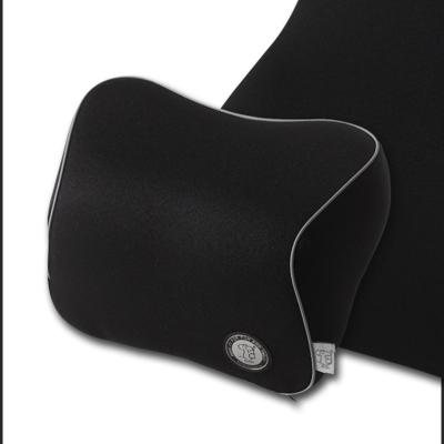 GiGi(吉吉)汽車頭枕 車用護頸枕記憶棉車飾枕頭 新款四季車座椅靠枕正品 黑色