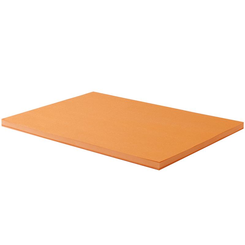 得力(deli)7758 A4 80g橙色复印纸打印纸
