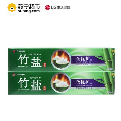 LG竹盐全优护牙膏220g*2