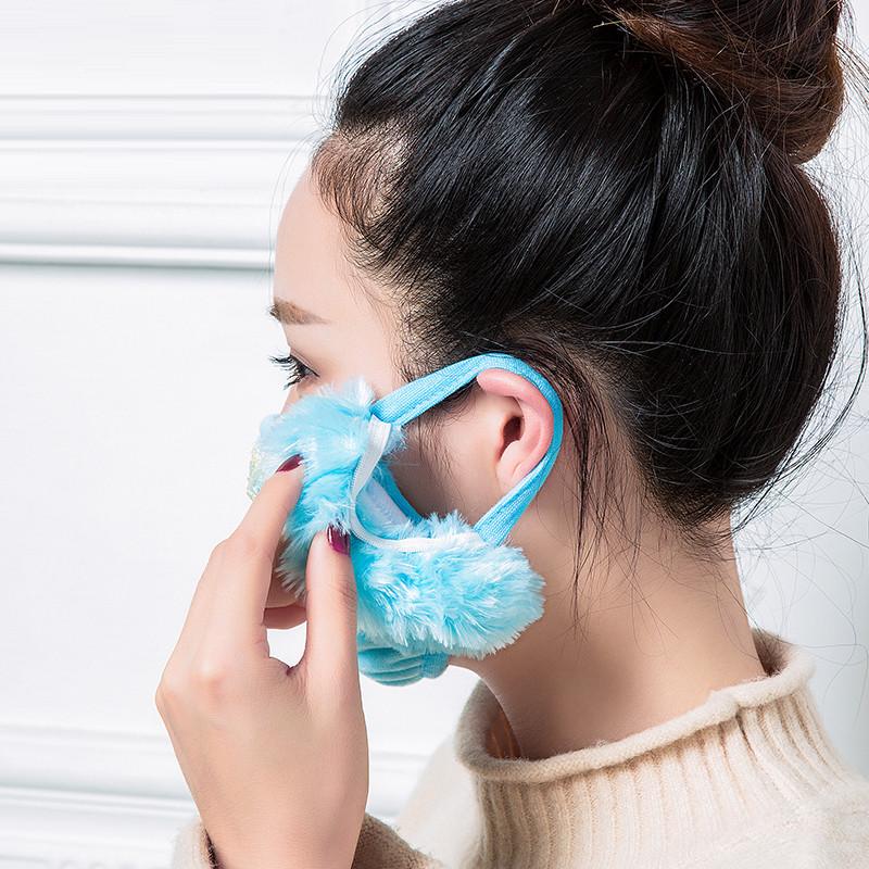成人与小孩作爱女人与小孩_秋冬保暖口罩冬天防寒耳罩可爱骑行防灰尘口罩男女成人儿童护耳罩