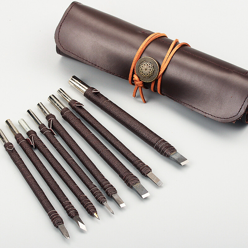 木工雕刻刀套装木雕工具木工工具印章入门篆刻刀全套