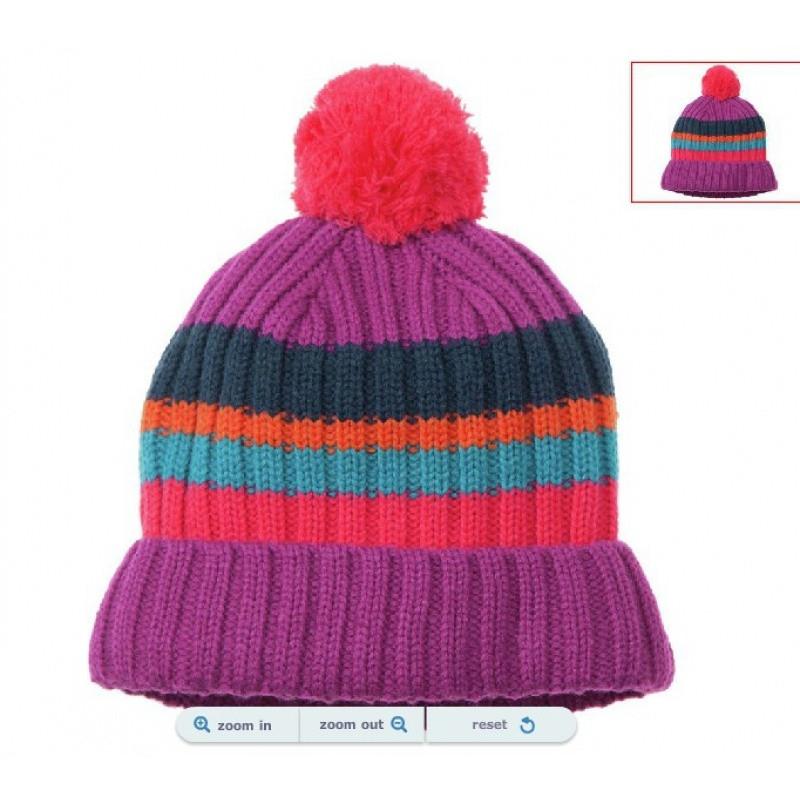 noabat儿童帽子秋冬季男女童针织帽护耳婴儿温暖抓绒宝宝羊毛线帽