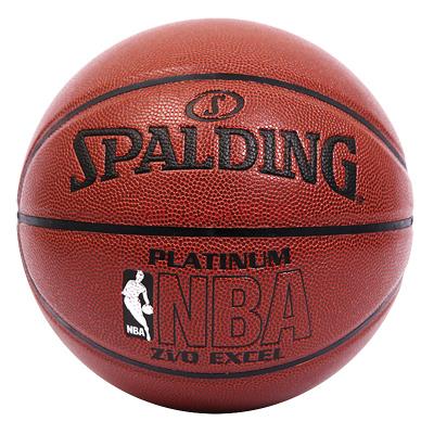 斯伯丁SPALDING篮球室内室外通用篮球 74-605Y NBA铂金系列 专为高水平比赛设计 PU材质七号篮球