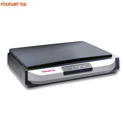 方正(Founder)Z3800 平板式扫描仪A3彩色快速高清CCD文档照片平板 黑色