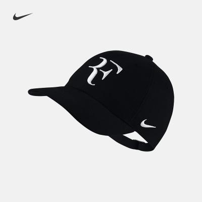 耐克(NIKE)HYBRID CAP 费德勒RF男女可调节网球运动帽 AH6985-010