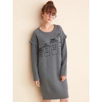 漫倪芳(ManNiFang)时尚大衣和秋壳冬女士拼平面设计上机v时尚图片