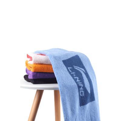 李寧(LI-NING)運動毛巾棉質吸汗巾吸水跑步健身瑜伽擦汗巾游泳擦水保濕LSJN799