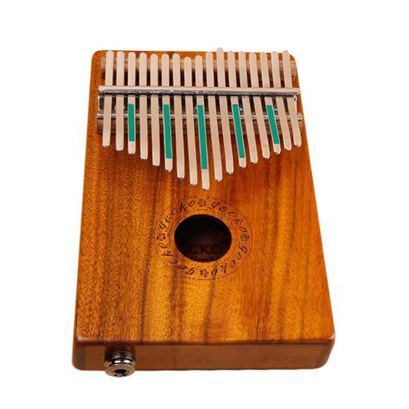 gecko壁虎拇指钢琴便携卡林巴琴10音手指琴拇指琴十音图片