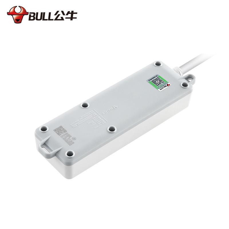 公牛 大功率电源插座接线板 插线板 拖线板插排 1.8米