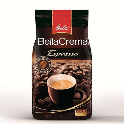 德國進口 美樂家Melitta 意式特濃 咖啡豆 1000g