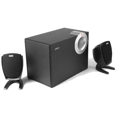 漫步者(EDIFIER) R201T06多媒体台式电脑2.1声音音箱 低音炮 木质音响 黑色