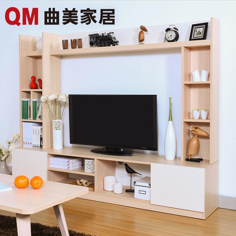 曲美家具 木质电视柜 组合储物柜 北欧简约现代 小户型客厅卧室家具