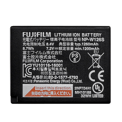 富士/FUJIFILM NP-W126S原裝電池 電源 適用XT3/XT20/XT100/X100F/XA5等機型