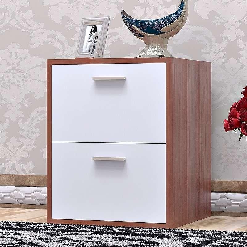 家乐铭品 克鲁床头柜 床边小柜子 欧式现代简约 卧室