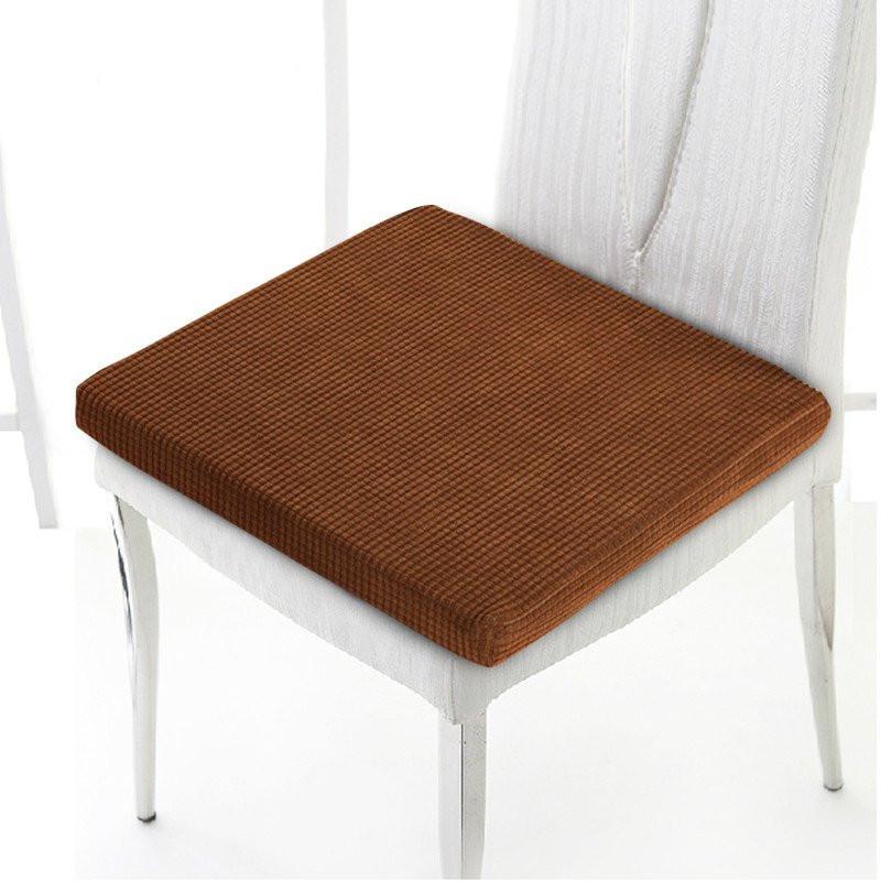 思侬家纺 可拆洗坐垫 海绵学生椅垫 方形加厚办公室椅子凳子电脑椅
