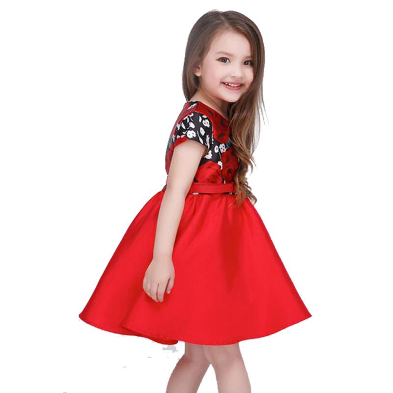 yh 【印花公主裙】童装童裙女童连衣裙 3岁--13岁春夏