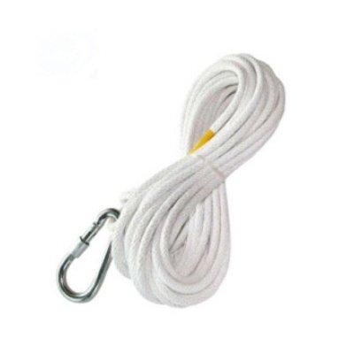 火灾逃生钢丝绳 防火救生 登山 带安全钩 钢丝绳攀岩绳钢丝内芯消防绳40米