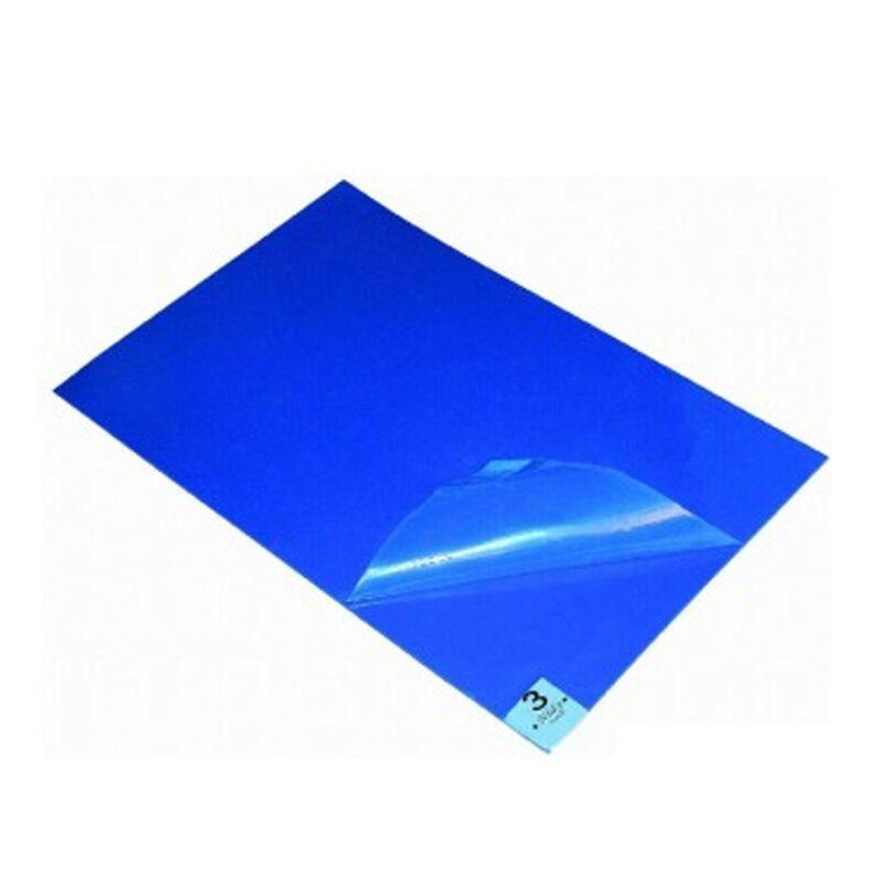 防静电粘尘垫_谋福 防静电胶粘尘垫 无尘室使用 蓝色 pe 0.