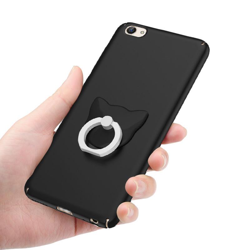 欧雷柏 vivox7手机壳 x9手机壳x7plus带支架手机壳 磨砂后盖式手机套