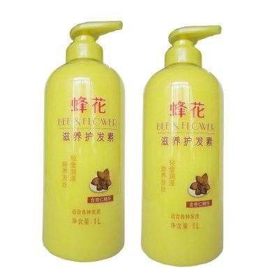 蜂花 滋养营养护发素1l*2瓶(含杏仁精华)图片