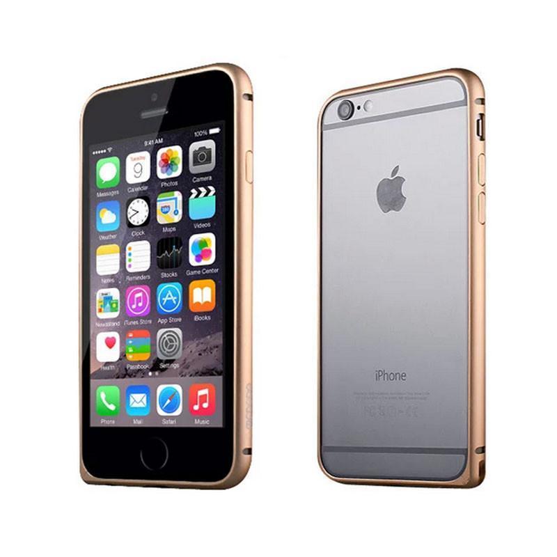 iphone6plus手机壳苹果i6p保护套5.5寸六金属边框65.