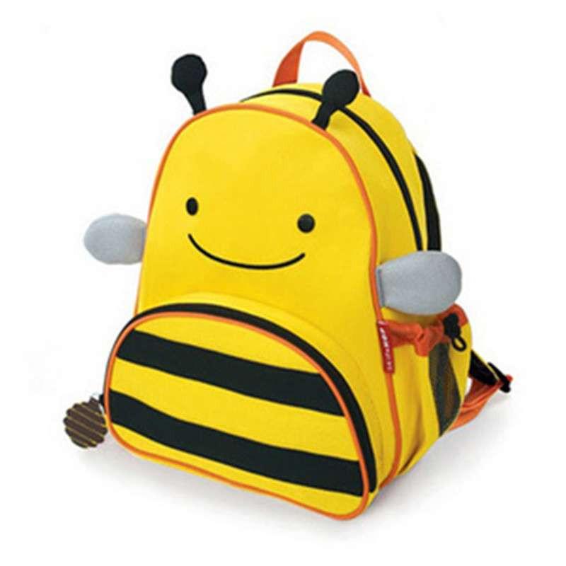 大贸商 新款 儿童书包背包 动物卡通书包背包 小蜜蜂样式 sf25087a