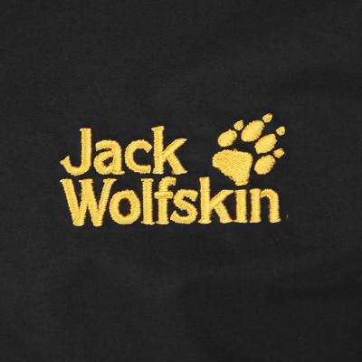 jack wolfskin狼爪秋冬新款男士套软壳三合一冲锋衣5009401 黑色6000