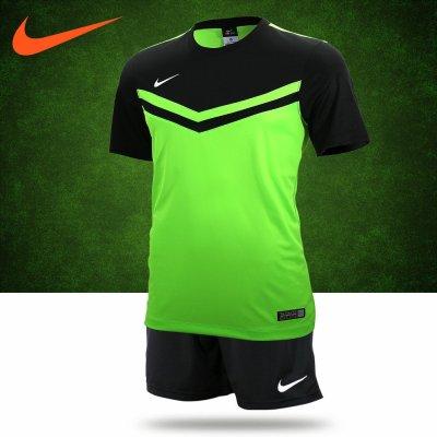 耐克足球服套装男款足球训练服队服比赛服专柜正品NIKE足球衣定制
