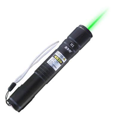 ht惠斯特H1 大功率遠射強光激光手電綠光鐳射燈教鞭售樓筆沙盤教練激光燈usb充電指星筆贈滿天星打一字線 黑色