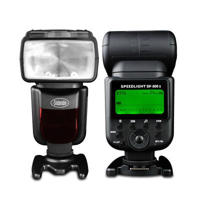 斯丹德DF-800闪光灯适用尼康佳能机顶单反外置高速同步TTL热靴闪光灯60/70D 6D/2 5D4/3/2/S/R