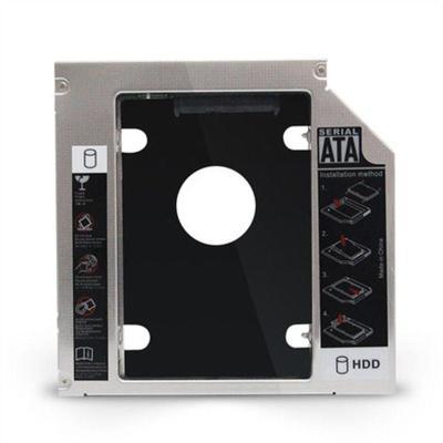 STW 笔记本光驱位硬盘托架12.7mmSSD固态SATA3防震 光驱位硬盘架通用