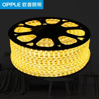欧普照明 LED照明光源灯带 2835贴片吊顶条柜台槽霓虹灯光带 暖白光