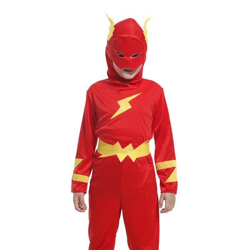 六一儿童节日表演服装 儿童男女衣服 蜘蛛侠 闪电超人