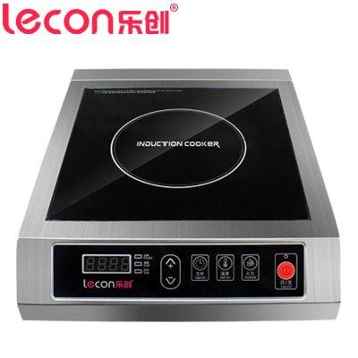 乐创(lecon) 电磁炉 LC-SY3500 商用电磁炉3500W大功率 10档火力调节 预约定时 按键式不锈钢电磁炉