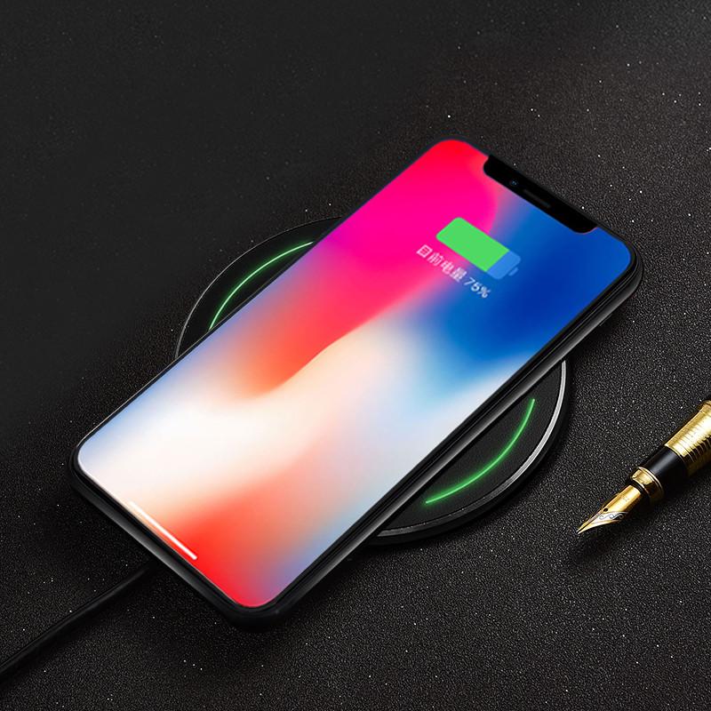 酷派(coolpad)苹果8 plus无线充电器底座iphone x 三星note8/s8/s7图片