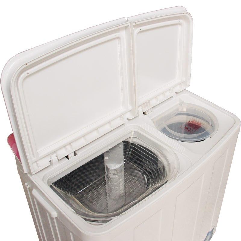 洗衣机甩干_9公斤 大容量 半自动双缸桶洗衣机 波轮带脱水甩干
