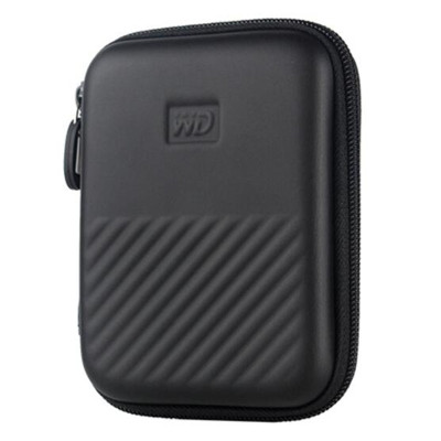 WD/西部数据 New My Passport E元素 2.5寸 移动硬盘防震包 保护包 黑色