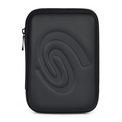 希捷(Seagate) 移动硬盘包睿品睿翼2.5寸硬盘收纳包 专用包防震包 硬壳包 黑色