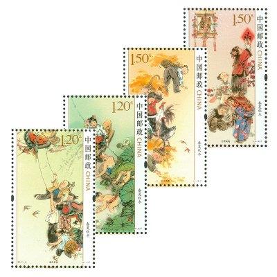 2017-6《春夏秋冬》特種郵票 套票