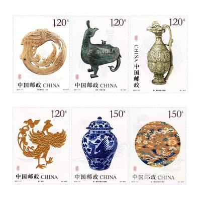 2017-17 《鳳(文物)》特種郵票 套票