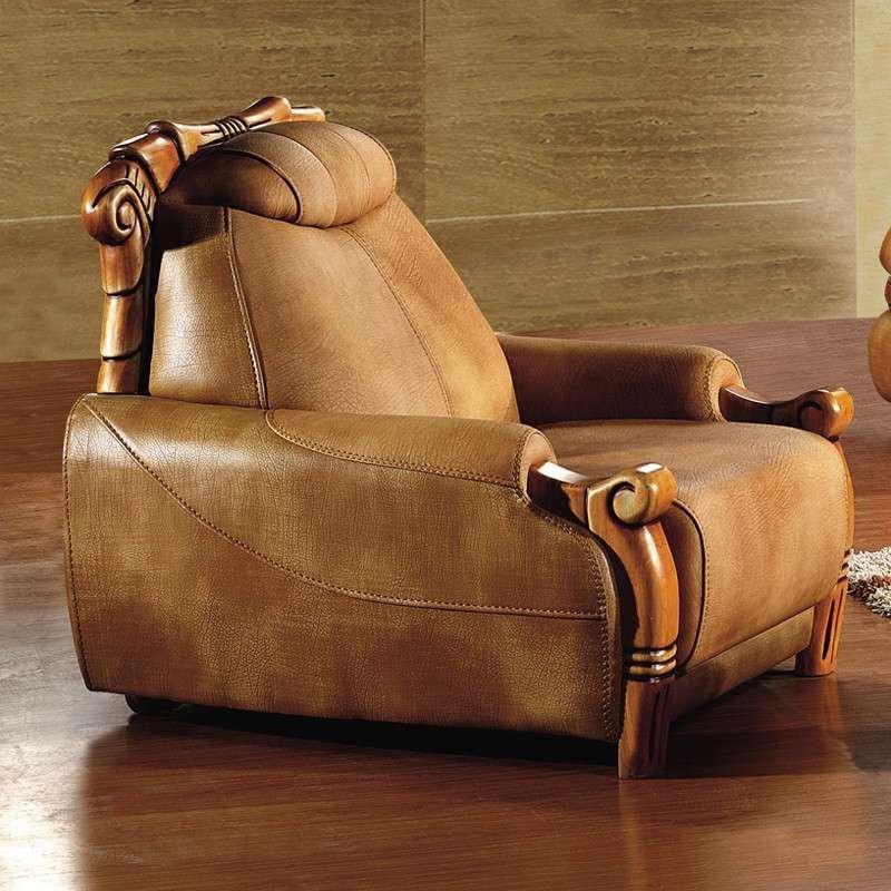 俏夫人 皮沙发 牛皮客厅组合欧式中厚皮质大款沙发