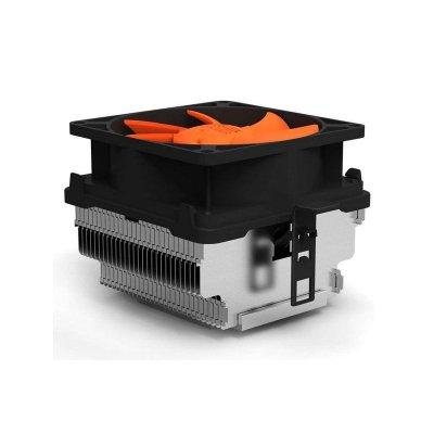 超頻三(PCCOOLER) 甲殼蟲Q82 CPU散熱器 intel AMD多平臺通用 8CM靜音風扇 散熱器