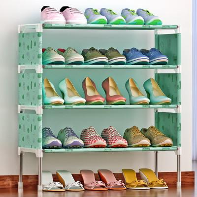 索尔诺简易多层鞋架 组装防尘鞋柜简约现代经济型铁艺收纳架K125