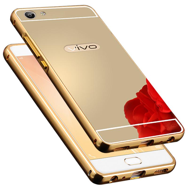 蓝琼vivox7手机壳金属边框防摔后盖vivox7保护套外壳硬