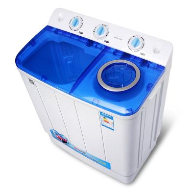 万爱xpb80-108s半自动洗衣机 双缸洗衣机 迷你小型双桶洗衣机
