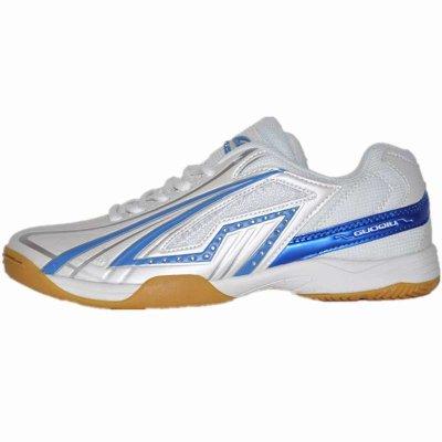 國球/GUOQIU 乒乓球鞋 正品比賽乒乓球運動鞋 GX-1015牛筋底透氣耐磨耀眼奪目